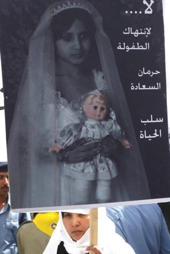 La tragedia de las niñas-novias en Yemen