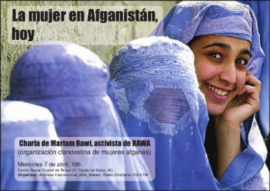 Rawa: Asociación de las Mujeres Revolucionarias de Afganistán