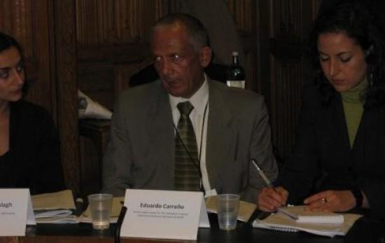 Eduardo Carreño, defensor de DDHH en Colombia: «lo que se busca es aniquilar cualquier forma de oposición»