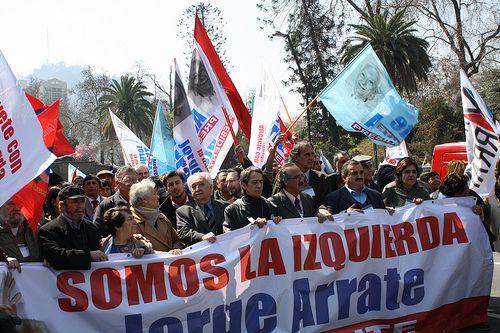 """Jorge Arrate y organizaciones de izquierda niegan supuesto """"pacto progresista"""" y convocan a una Asamblea por la reconstrucción"""