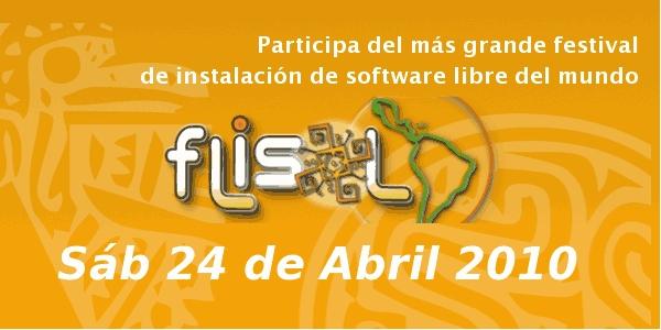 Festival Latinoamericano de Instalación de Software Libre (FLISoL) 2010