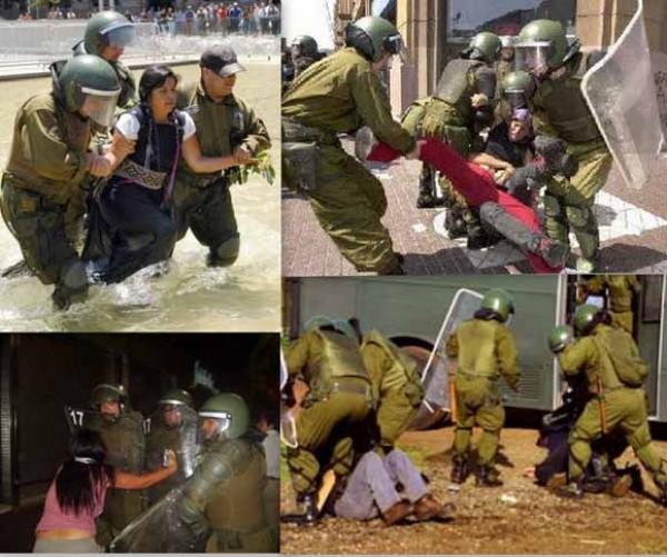 Cinco carabineros procesados en Malleco por violencia innecesaria y falso testimonio