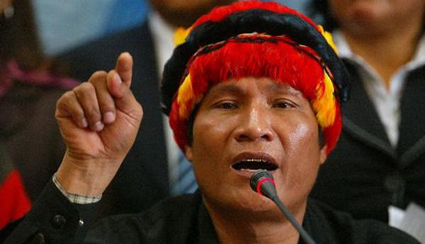 Dirigente indígena de Bagua es detenido al arribar a Lima