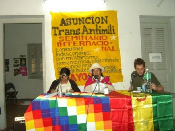 Antimilitaristas realizaron encuentro internacional en Asunción