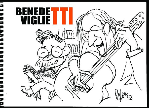 Viglietti recuerda a Benedetti en la Usach