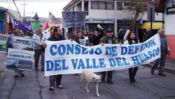 Con nueva marcha el Valle del Huasco dijo si a la vida, no a Pascua Lama