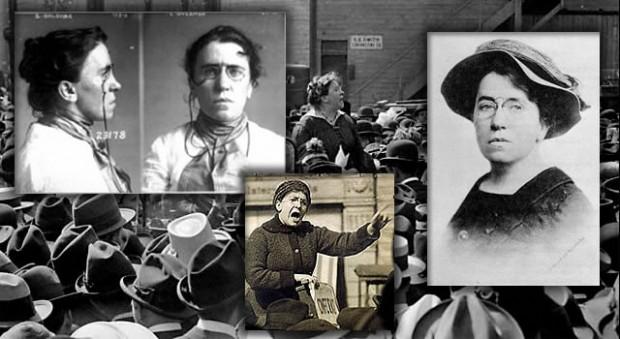 """Emma Goldman: """"la mujer más peligrosa del mundo"""""""