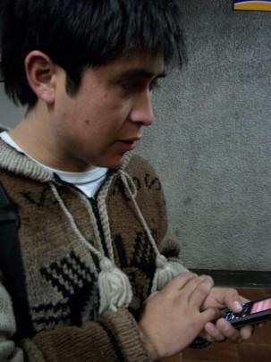 Estudiante mapuche acusa manipulación de imagen por parte de Gobierno de Piñera