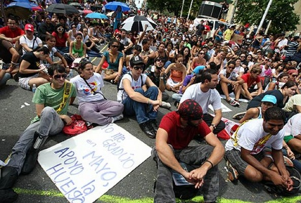 Victoria estudiantil afecta credibilidad del gobierno en Puerto Rico