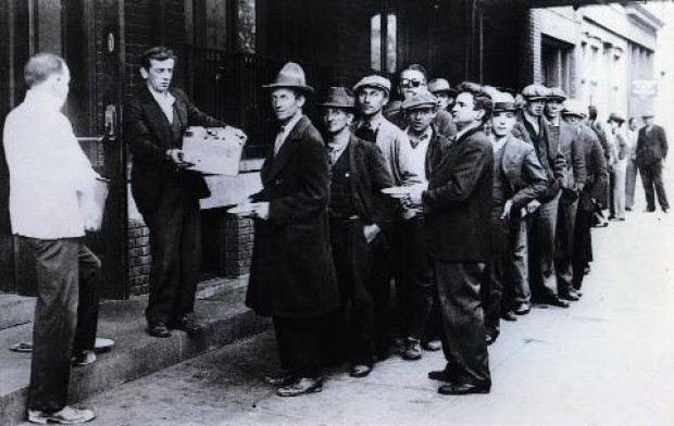 ¿Vamos a la Gran Depresión? ¿Sí? Agarremos el bastón…