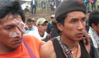 Indígenas colombianos a diario son víctimas de violaciones a DDHH
