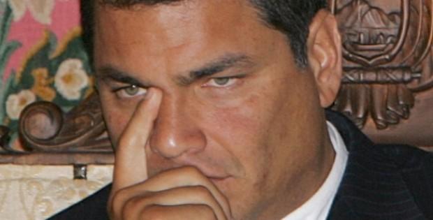 Rafael Correa secuestrado en Ecuador por la Policía