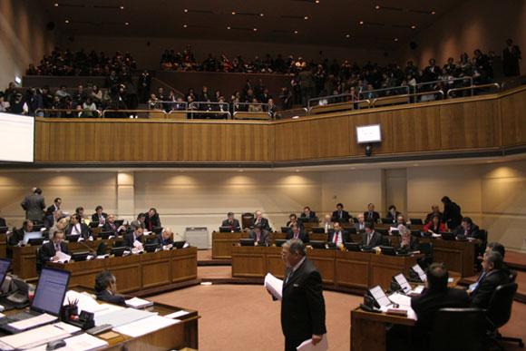 Sin avances discusión en el Senado sobre proyecto que modifica Ley Antiterrorista