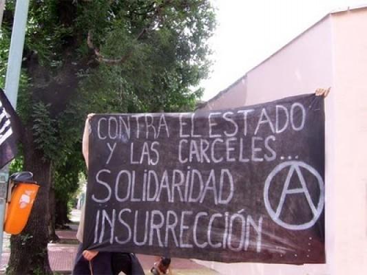 Anarquistas presos en Santiago 1 iniciaron huelga de hambre