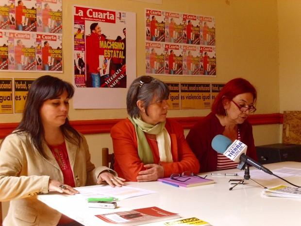 """Red contra la violencia a la mujer repudia """"acción sexista"""" del ministro Golborne y diario La Cuarta"""