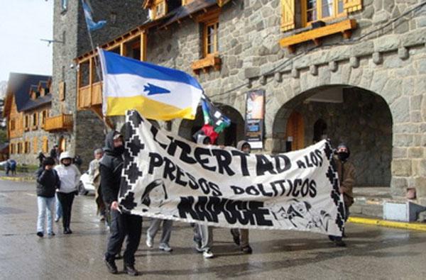 Huelga de hambre en Bariloche en respaldo a presos políticos mapuche de Chile