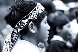 Carta de niño preso político mapuche en huelga de hambre