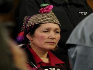 Juana Calfunao y madres mapuche llegan hasta La Moneda