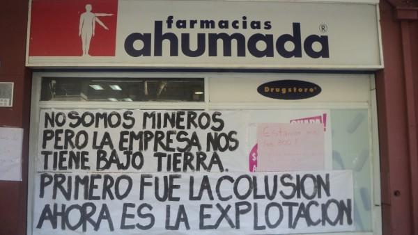 Huelga en Farmacias Ahumada (FASA) continúa ante silencio de los empleadores y canales de televisión
