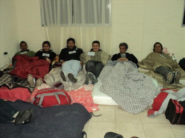 Sexto comunicado de huelguistas de hambre de Caimanes
