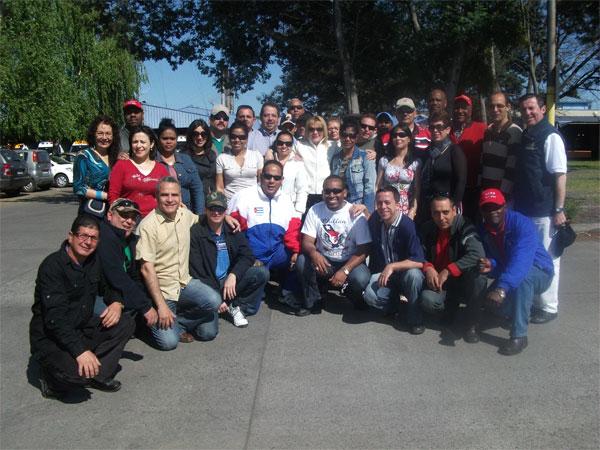 Médicos cubanos solidarios con Chile tras el terremoto fueron homenajeados