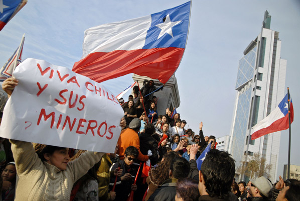 Gobierno censuró mensaje de los 33 apoyando al pueblo mapuche