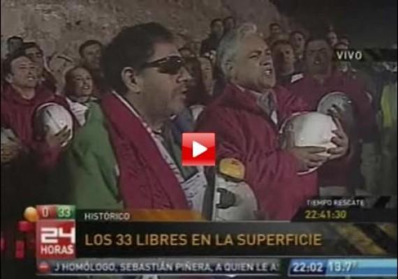 33 mineros y sociedad del espectáculo a la chilena