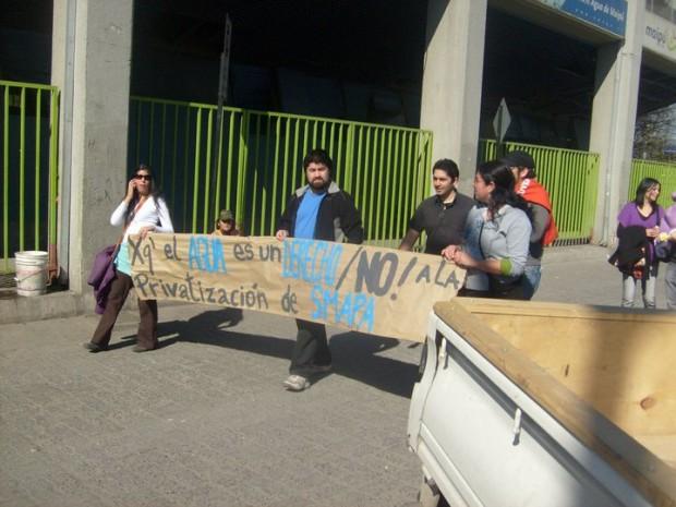 Maipú: No a la privatización de Smapa