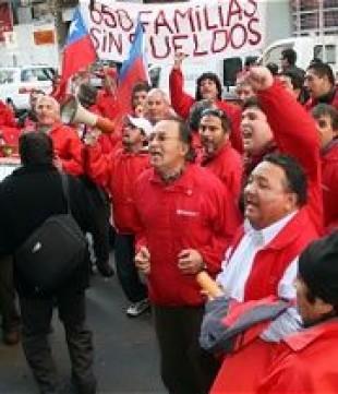 Hoy a las cero horas inician huelga de hambre seca trabajadores de Transaraucaria