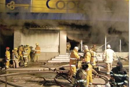 Seis trabajadoras mueren encerradas en incendio de empresa mexicana