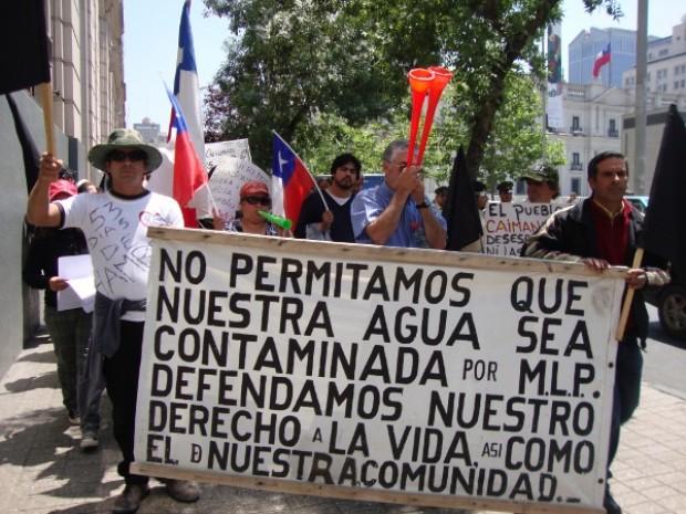 Continúa conflicto entre comuneros de Caimanes y Minera Los Pelambres