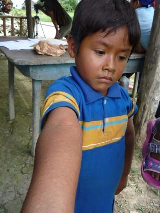 Boa negra: desastre en el río Marañón, amazonía peruana