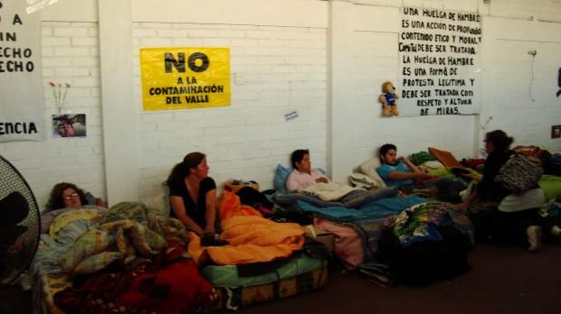 81 días de huelga de hambre en Caimanes: Se restaura mesa de diálogo a pesar de las condiciones de Minera Los Pelambres
