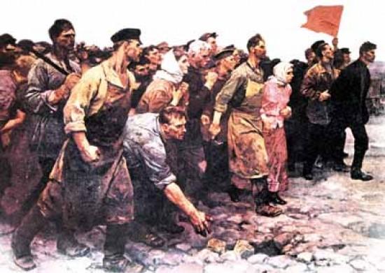 A 93 años de la Gran Revolución Rusa