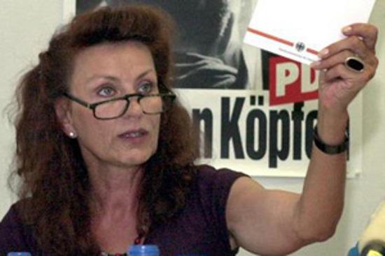 Diputada alemana pide reincorporación de abogados de DDHH despedidos por Interior