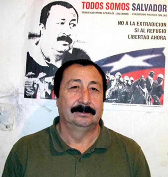 Galvarino Apablaza tiene amigos argentinos