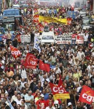 Panorama general de las protestas en Europa y en el Medio Oriente