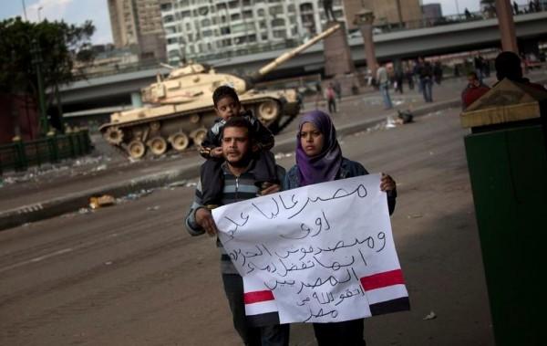 La segunda revolución del Magreb: Egipto