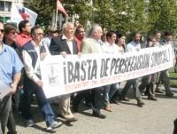 Convocan a protesta de apoyo al dirigente Carlos Castro