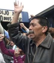 Dirigente de la Fenats lleva más de 20 días en huelga de hambre