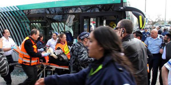 Al menos un muerto y 31 heridos por explosión de una bomba en Jerusalén