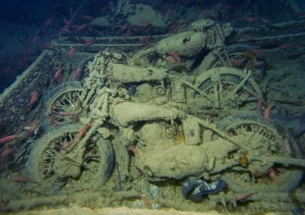 Desechos militares amenazan a los océanos