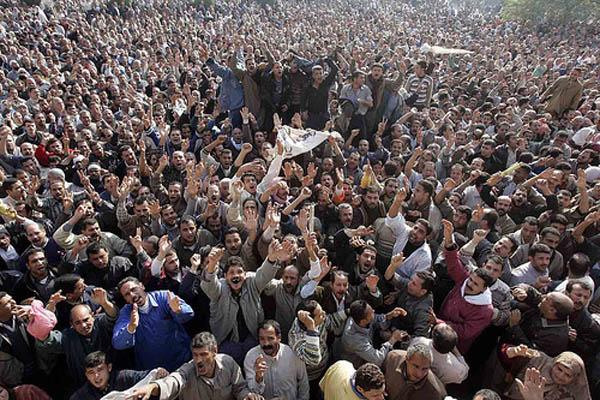 En el corazón de la revuelta egipcia