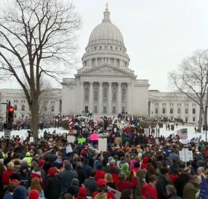 Y la lucha laboral en Wisconsin continúa…