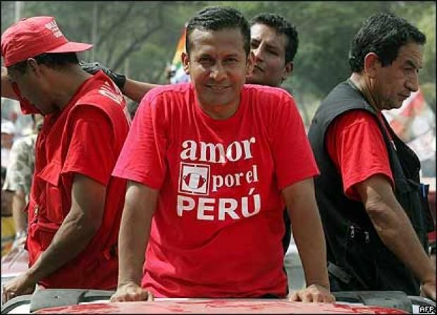 Ollanta Humala, el candidato para hacer la diferencia