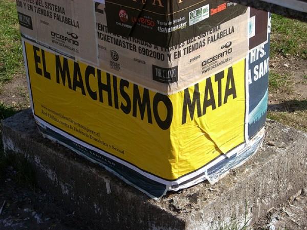 ¡Cuidado, el machismo mata! inicia campaña 2011