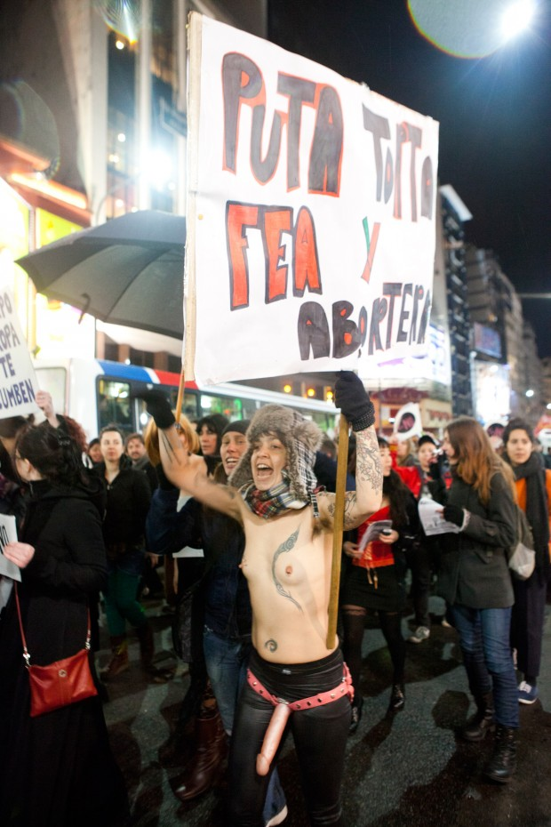Hoy desde las 17 horas Marcha de las Putas en Santiago