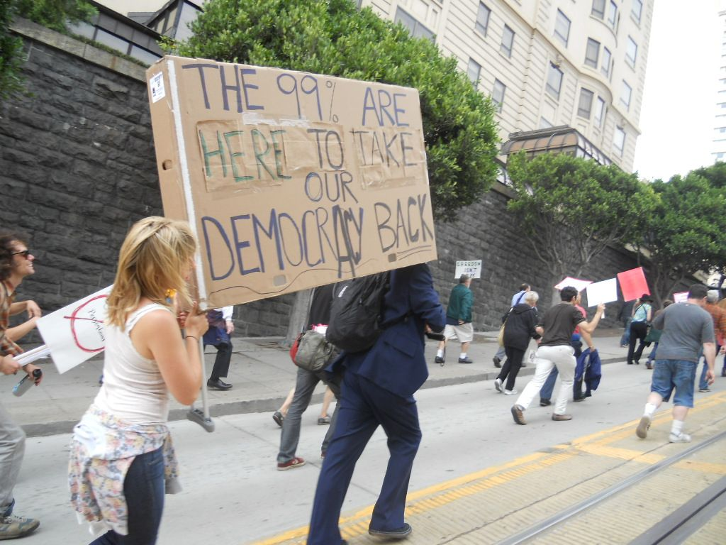 Occupy Wall Street: La perspectiva de la calle