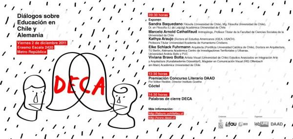 """Este viernes """"Diálogos sobre educación Chile-Alemania"""" en ex okupa La Eskalera"""