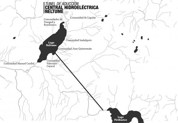 Comunidades no participarán en consulta indígena por Central Neltume de Endesa